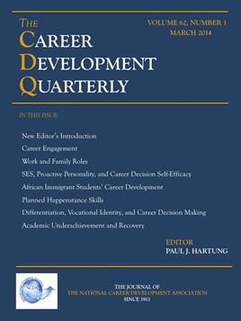 cover of the Career Developments Quarterly