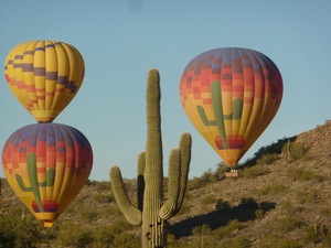 Copyright Visit Phoenix Hot Air Expedition