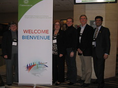 Cannexus12 Marilyn Van Norman Nancy Dube  Rob Shea Rich Feller Riz Ibrahim